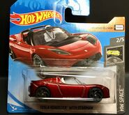 2019 Hot Wheels Tesla Roadster with Starman