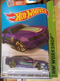 Hot Wheels 1998 Mainline Details about  /Camaro Race Car New in Box