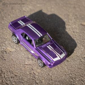 67 mustang purple