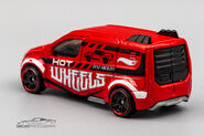 CFK51 - Hot Wheels Ford Transit Connect-2