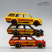 Stack of Momo Datsun Bluebird Wagon (510)