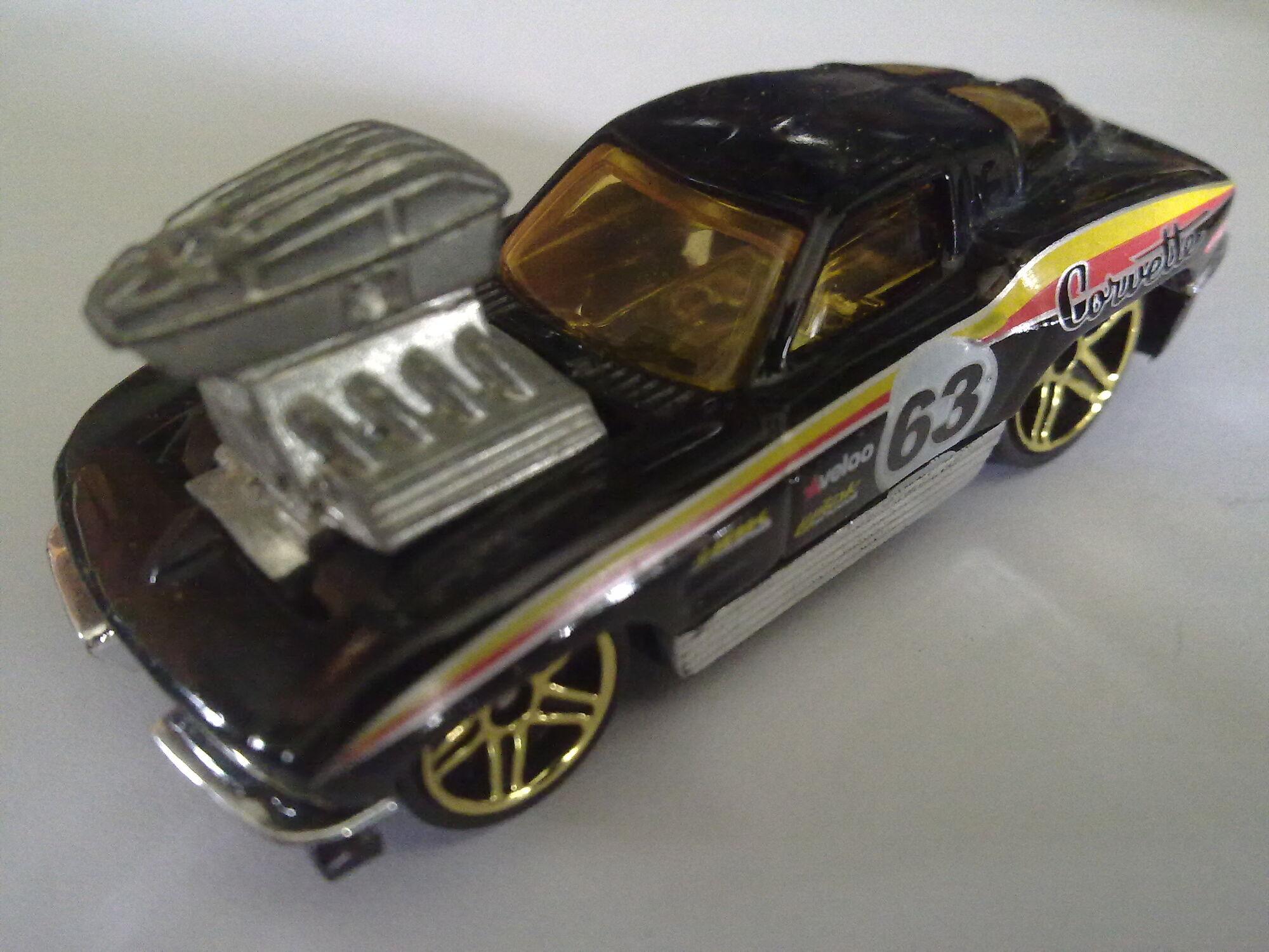 Yellow Version Details about  /2011 Hot Wheels /'63 Corvette 87//240
