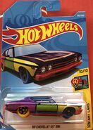 '69 Chevelle SS 396 - FJW79 Card