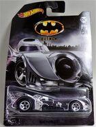 2019 Batman Set. 1989 Batmobile. Chrome. Card Art