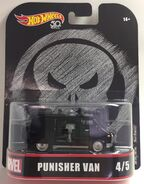 Punisher Van Card-front