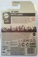 (R) '32 Ford 2021 Mattel Games 1-5 27-250