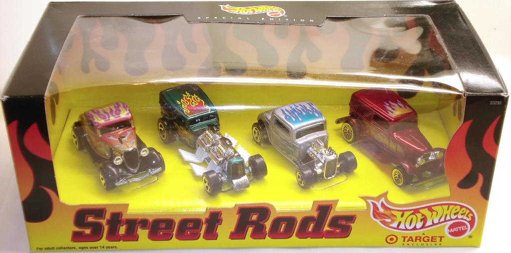 Street Rods 4-Car Set