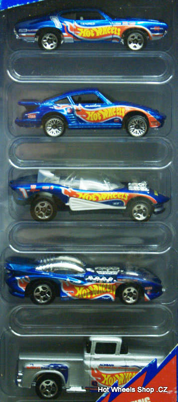 Hot Wheels Race Team III 5-Pack