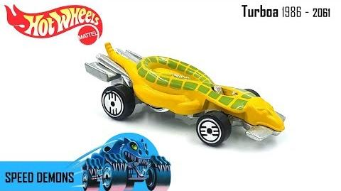 Hot Wheels 1986 - Turboa 2061 - Speed Demons - Video Still Life Toy Review