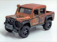 Land Rover. Frost Orange. Front Persp.