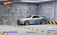02 Nissan Skyline GT-R(R34)