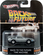 Back To The Future Time Machine package front