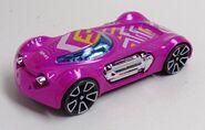 Dodge XP-07. Speed Blur 5-Pack. Rear
