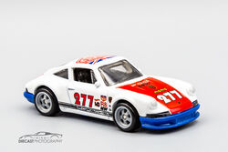 Green Hood Hot Wheels 2019 HW Rescue Polizei White 1971 Porsche 911