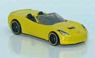 14' Corvette Stingray convertible (4925) HW L1210124