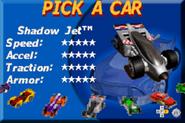 Hot Wheels - Velocity X GBA Shadow Jet 1
