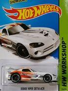 2015 236-250 HW Workshop - Drift Race 1-5 '08 Dodge Viper SRT10 ACR 'Speedhunters' White