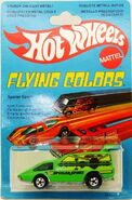 Spoiler Sport Hot Wheels Flying Colors