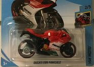 2019 Hot Wheels Ducati 1199 Panigale 2nd colour