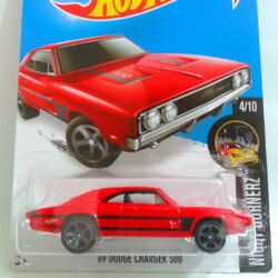 Hot Wheels /'69 Dodge Charger 500 #092 HW Muscle Mania #6 of #10 Green VHTF!