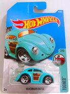 Volks Beetle (Blu) Tooned 7 - 17 Cx