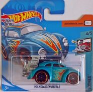 Volkswagen Beetle (tooned) - FJY47 Card