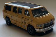 2021 yellow dodge van