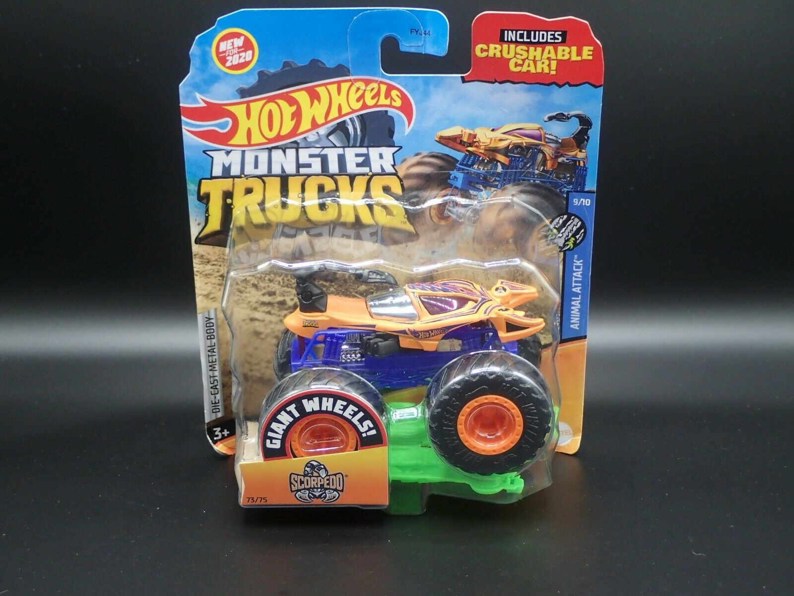 Scorpedo Monster Truck Hot Wheels Wiki Fandom