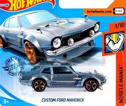 Hot Wheels CUSTOM FORD MAVERICK Custom Color Variations