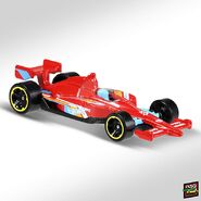 2019 Hot Wheels Indy 500 2nd colour right