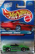 Hot Wheels Corvette Convertible Tropicool Series