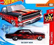 2019 Hot Wheels '66 Chevy Nova