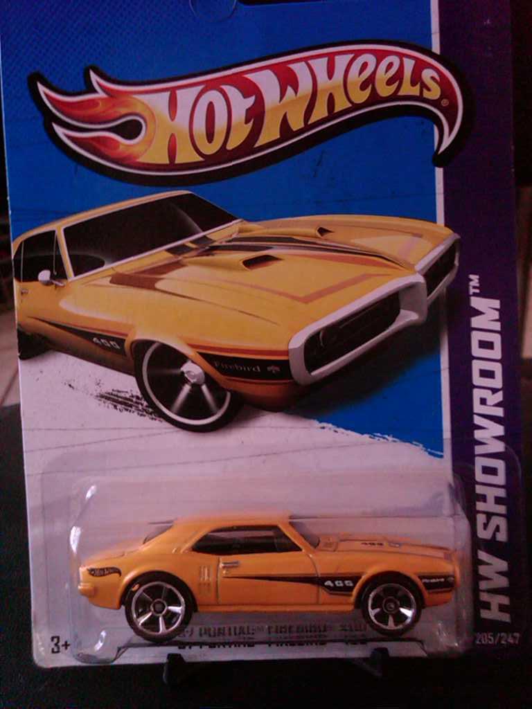 /'67 PONTIAC FIREBIRD 400 ✿Gold; REAL RIDERS✿LOOSE✿2011 Hot wheels Garage Series