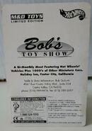 Hot Wheels Delivery Van Bobs Toy Show card back