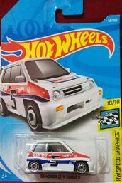 '85 Honda City Turbo II - FJV43 Card