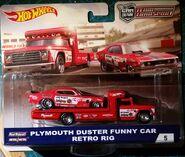 Plymouth Duster Funny Car & Retro Rig 02