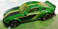 HW 2005 FORD MUSTANG GT GREEN