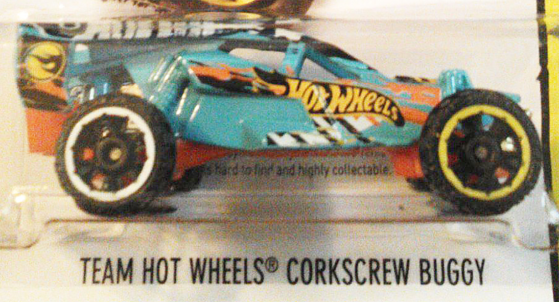 Team Hot Wheels Corkscrew Buggy
