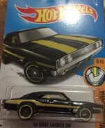 2017 Muscle Mania 06-10 285-365 '69 Dodge Charger 500 -Mooneyes- Black