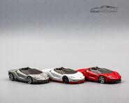 Trio de 16 Lamborghini Centenario Roadster-2
