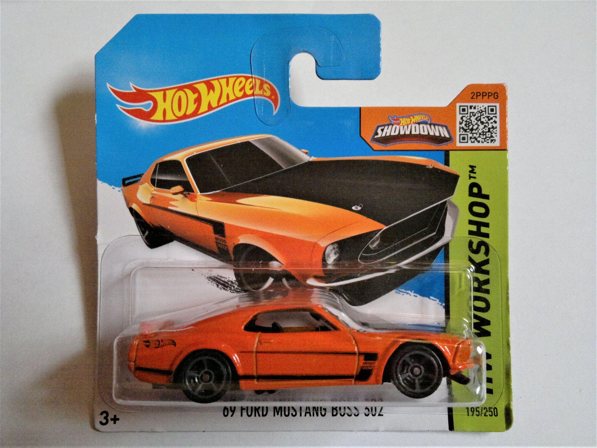1969 /'69 FORD MUSTANG BOSS 302 GULF CAR CULTURE PREMIUM HOT WHEELS DIECAST 2018