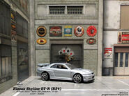 Nissan Skyline GT-R (R34) - 01