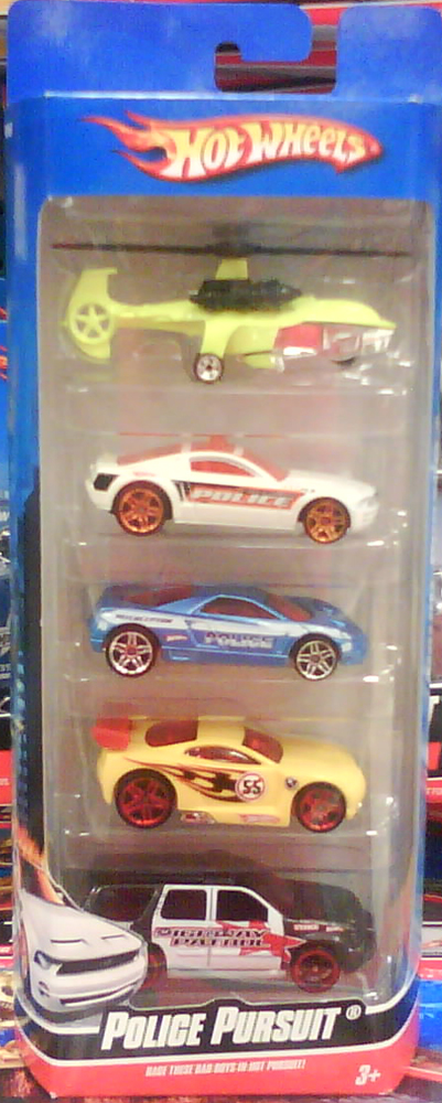 Police Pursuit 5-Pack (2010)