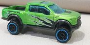 HW 17 FORD F150 RAPTOR Hot trucks GREEN