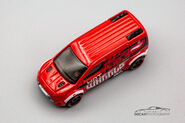 CFK51 - Hot Wheels Ford Transit Connect-1-2