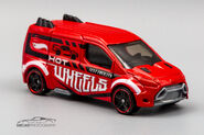 CFK51 - Hot Wheels Ford Transit Connect-1