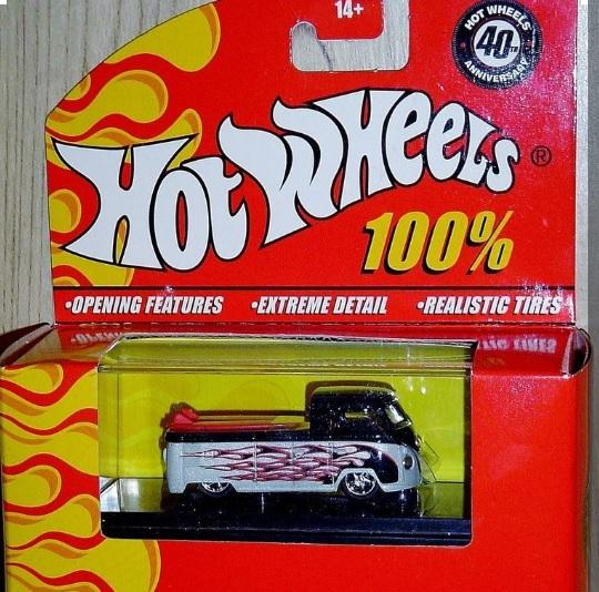 100% Hot Wheels 40th Anniversary