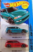 Honda Civic Color Variations