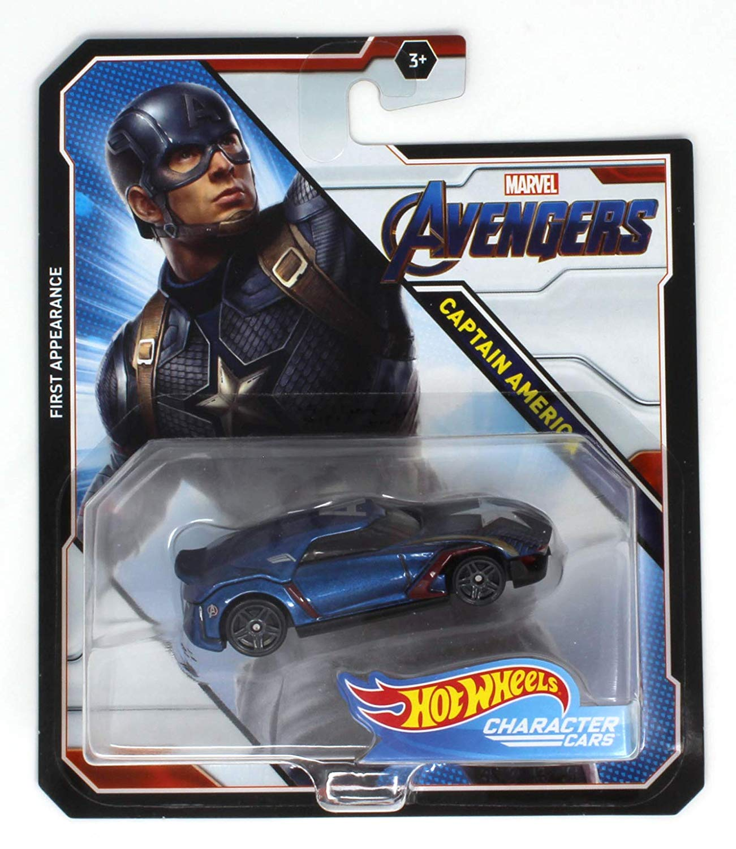 Captain America (2019 character car)
