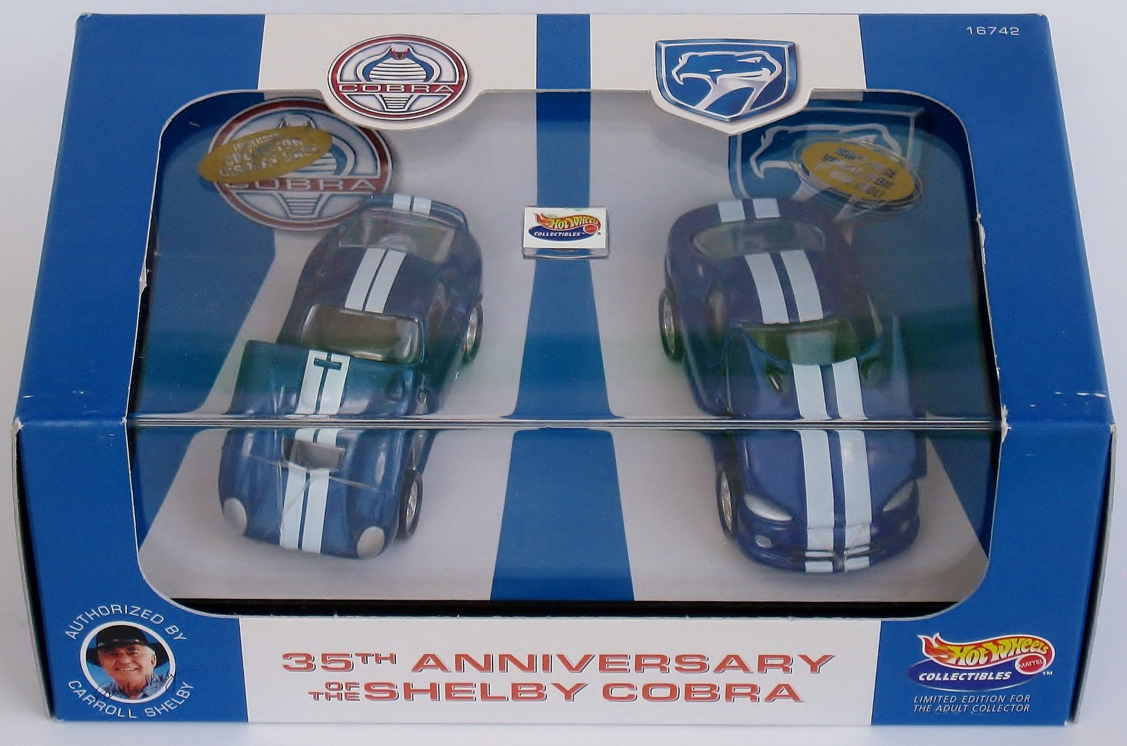 35th Anniversary of the Shelby Cobra 2-Car Set
